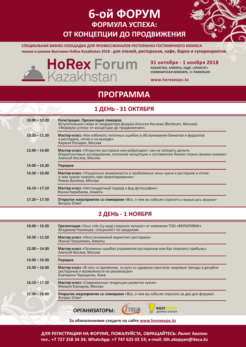 Program Forum HOREX2018
